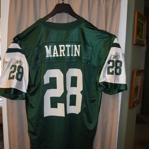 New York Jets #28 Curtis Martin Official NFL Game